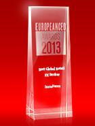 European CEO Awards 2013  - The Best Global Retail Broker