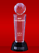 Best ECN Broker 2015 oleh International Finance Magazine