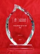 The Best Broker in Asia 2019 menurut Le Fonti Awards